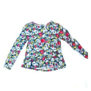 Cherokee floral blouse